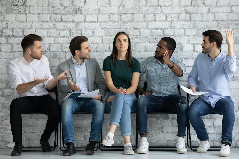 """<span class=""""caption"""">Incels rank all racial groups by attractiveness. The most attractive white men and women are 'Chads,' 'Stacys' and 'Beckys.'</span> <span class=""""attribution""""><span class=""""source"""">(Shutterstock)</span></span>"""