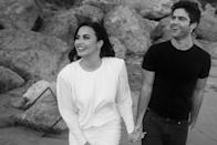 "<p>Weeks after a source close to the couple told PEOPLE that Ehrich was a ""<a href=""https://people.com/music/demi-lovato-fiance-max-ehrich-good-influence/"" rel=""nofollow noopener"" target=""_blank"" data-ylk=""slk:good influence"" class=""link rapid-noclick-resp"">good influence</a>"" on Lovato, the singer shared how he had helped her <a href=""https://people.com/music/demi-lovato-reprogramming-approach-to-body-image-fiance-max-ehrich/"" rel=""nofollow noopener"" target=""_blank"" data-ylk=""slk:approach to body image"" class=""link rapid-noclick-resp"">approach to body image</a>.</p> <p>""Don't mind me — just still reprogramming my thinking around body image with the most loving fiancé @maxehrich,"" she wrote on her Instagram story.</p>"