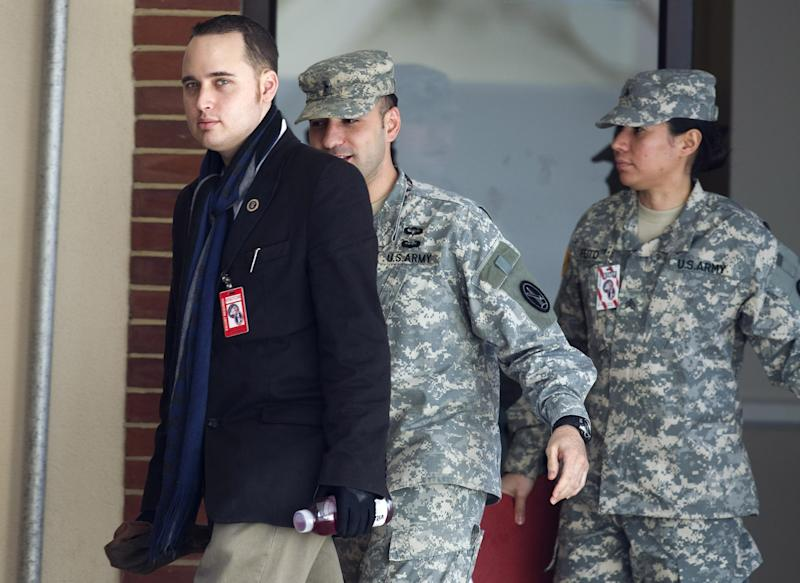 Adrian Lamo, a former computer hacker who informed authorities about Army Private First Class Bradley Manning, has died: REUTERS/Joshua Roberts