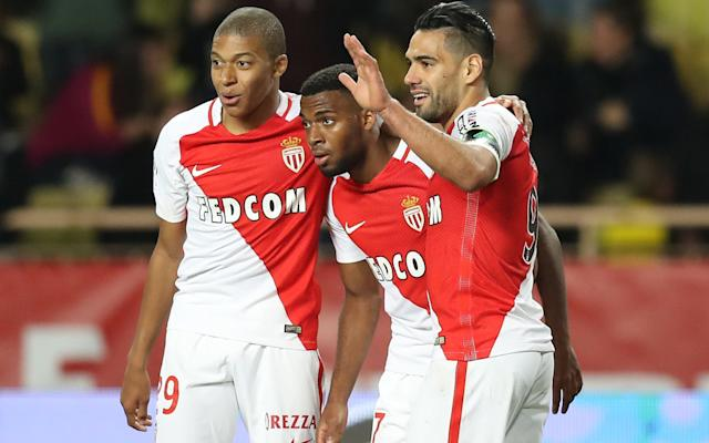 Monaco will hope to breach Juventus' rearguard in the first legCredit: AFP