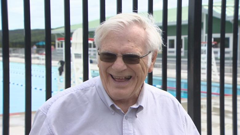 Bowring Park pool celebrates 50 years with man who was there at the start