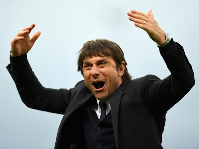 Conte likes playing with one central striker (Getty)