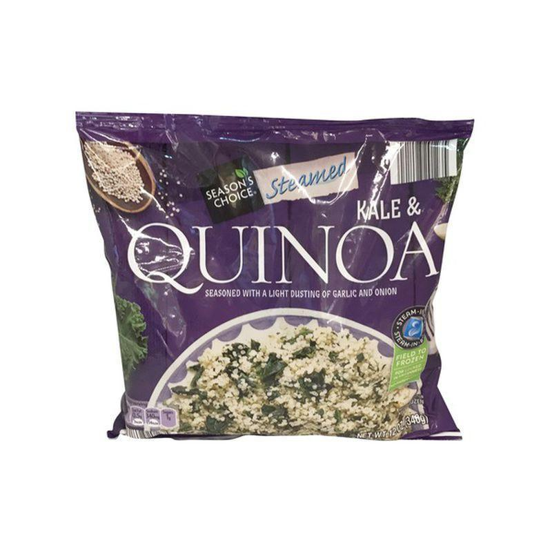 <p>Any shortcut to a healthy dinner that actually tastes good is a win in anyone's book, especially when it comes for $2.99. The Steamed Kale & Quinoa from Season's Choice is one of those necessities for your freezer, ready to be delicious in a pinch. That's why it's a steady go-to for Aldi customers.</p>