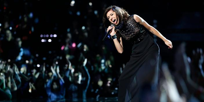 """Christina Grimmie on """"The Voice"""""""