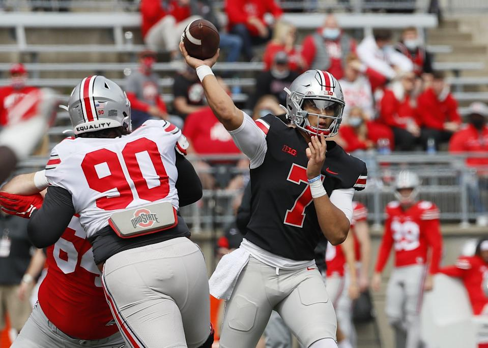 Ohio State's C.J. Stroud ranked among top tier QBs according to PFF