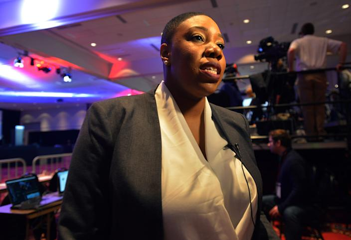 Symone Sanders, who worked as a senior adviser on Joe Biden's presidential campaign, will serve as chief spokesperson for Vice President Kamala Harris.