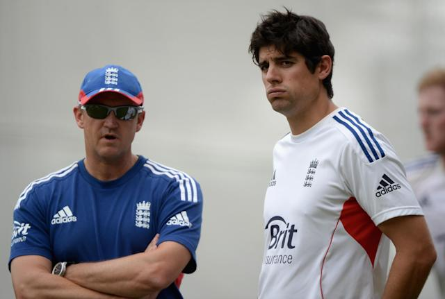 <p>That joy was short-lived as England suffered a humiliating whitewash in Australia the following winter. Coach Andy Flower left and Kevin Pietersen was dropped from the side after the series ended, leading to a huge fallout in English cricket. Cook shouldered a lot of the blame. (Getty Images) </p>