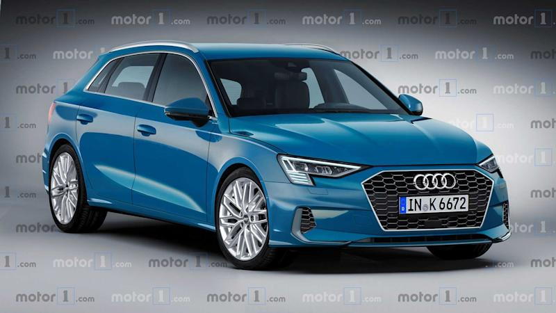 2020 Audi A3 Sportback Render Takes The Camouflage Off