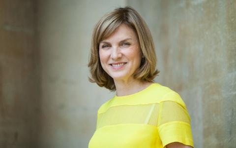 Fiona Bruce, a high earner who signed the pay gap letter