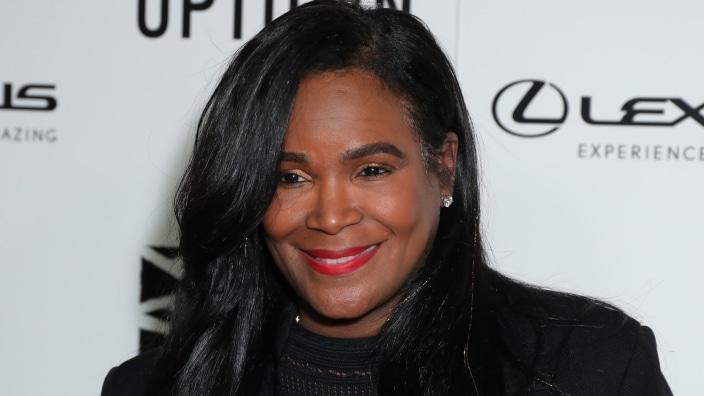 Tameka Foster Raymond (above) is opening up about how she found peace in her life after the accidental death of her son, Kile Glover, back in 2012. (Photo by Leon Bennett/Getty Images)