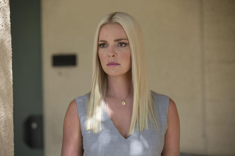 """This image released by Warner Bros. Pictures shows Katherine Heigl in a scene from, """"Unforgettable."""" (Karen Ballard/Warner Bros. Pictures via AP)"""