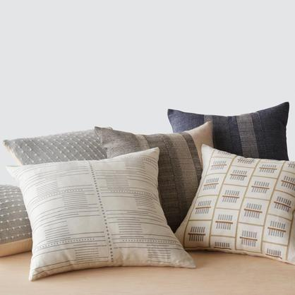 """<p><strong>pillows</strong></p><p>the-citizenry.com</p><p><strong>$115.00</strong></p><p><a href=""""https://go.redirectingat.com?id=74968X1596630&url=https%3A%2F%2Fwww.the-citizenry.com%2Fcollections%2Fall-throw-pillows%3Fsscid%3D41k5_kizso&sref=https%3A%2F%2Fwww.townandcountrymag.com%2Fstyle%2Fg36191601%2Famanda-hearst-sustainable-entertaining%2F"""" rel=""""nofollow noopener"""" target=""""_blank"""" data-ylk=""""slk:Shop Now"""" class=""""link rapid-noclick-resp"""">Shop Now</a></p><p>""""I bought all the pillows on my couch from this brand, which are all thoughtfully handwoven from natural materials by artisans. The entire production process is fair trade which is super important for me when buying anything artisanal. They also give a nature infused and cozy touch to my living room.""""</p>"""