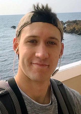 Electronics Technician 3rd Class Dustin Louis Doyon, 26, from Suffield, Connecticut, who was stationed aboard the USS John S. McCain when it collided with a merchant vessel in waters near Singapore and Malayasia, August 21, 2017, is shown in this undated photo provided August 24, 2017. U.S. Navy/Handout via REUTERS