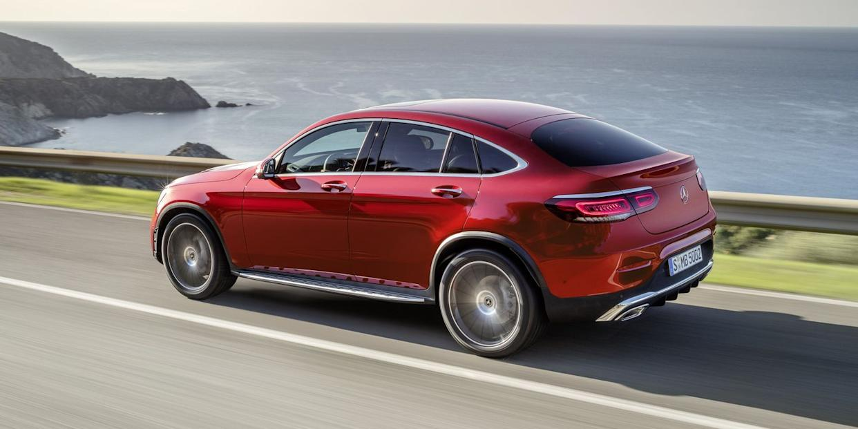 The 2020 Mercedes Benz Glc Coupe Is Updated To Keep The