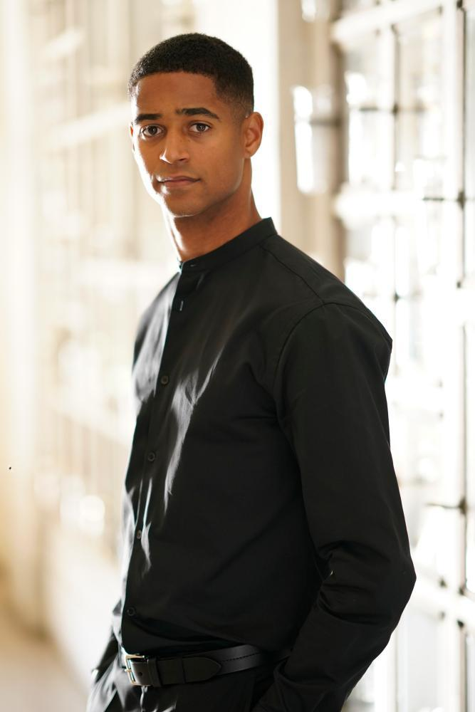 Enoch as Wes Gibbins in How to Get Away With Murder.