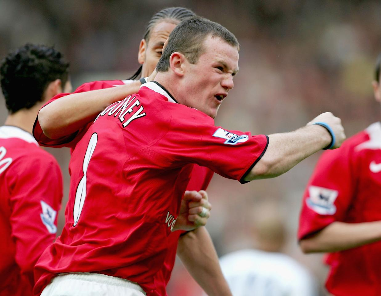 <p>Rooney had always been a fiery character, so it was no surprise when he was giving the referee a mouthful mid-match. What came next though, was a bit more of a shock. The young forward latched onto a clearance some 25 yards out and volleyed a thunderous strike beyond Shay Given. </p>