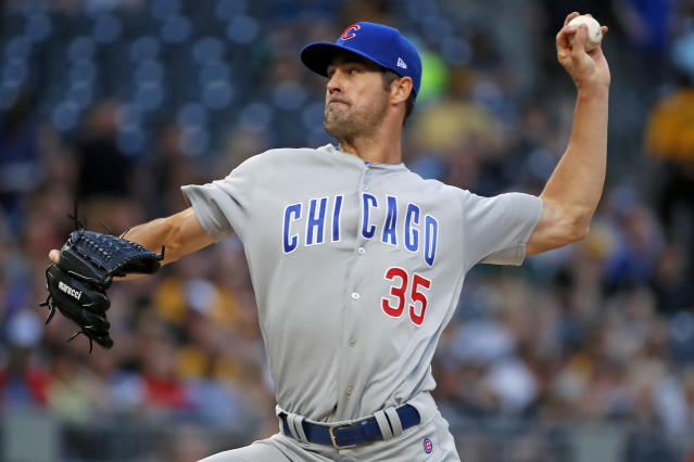 Cole Hamels, who has been there and done that, was underwhelmed with Milwaukee's turnout for a rivalry game in a pennant race. (AP)
