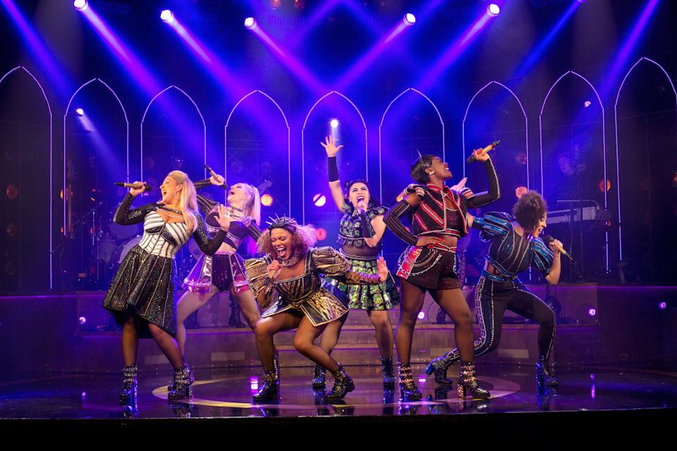 <p>Reign supreme: the queens on stage</p> (Eleanor Howarth)