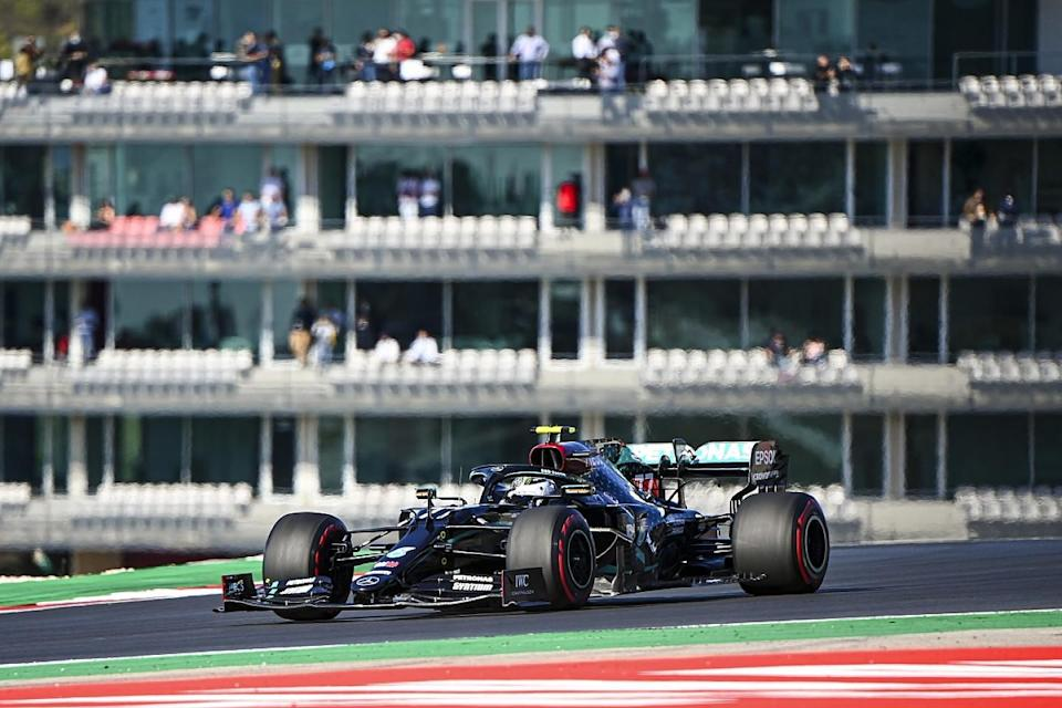 Bottas completes Portuguese F1 practice sweep in FP3