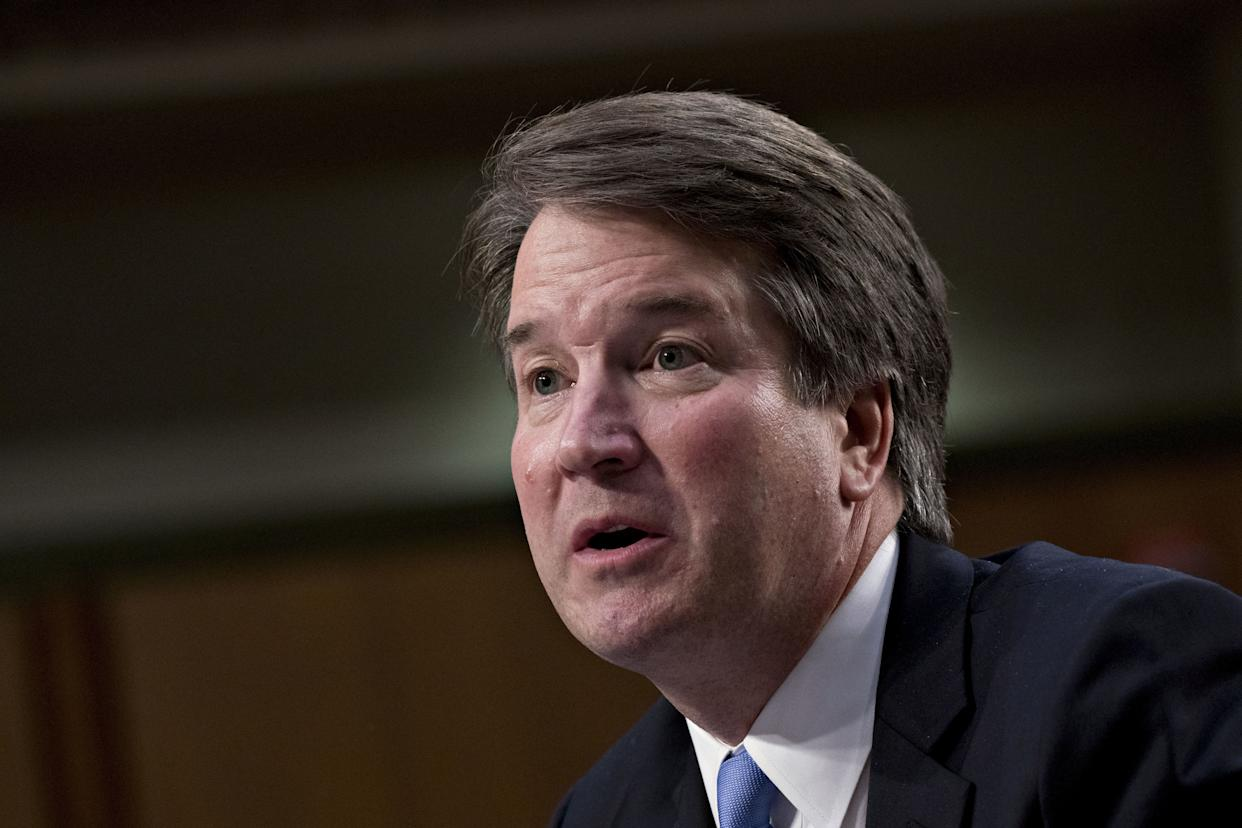 Brett Kavanaugh has a clear record oflying under oath before the U.S. Senate. (Photo: Bloomberg via Getty Images)