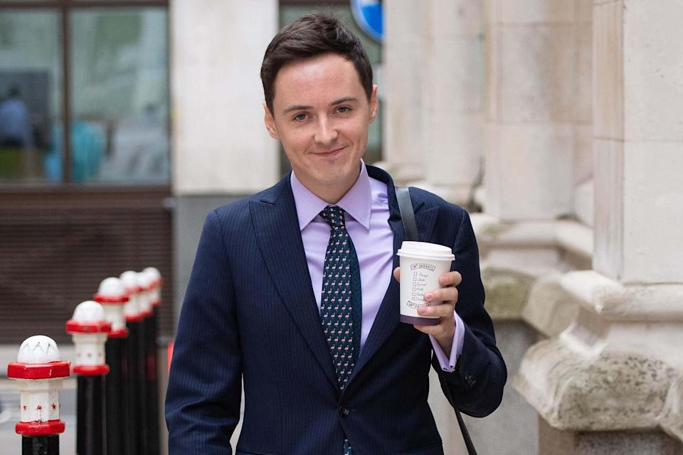 Darren Grimes was criticised for not challenging Mr Starkey on his racist comments (PA)