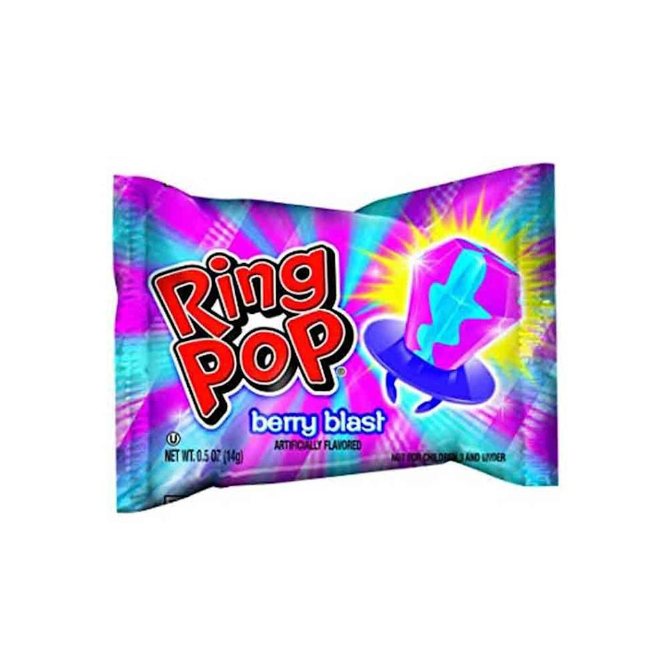 <p>If you weren't sporting a Ring Pop on your finger, were you even living? These win for both hottest snack AND fashion accessory, for sure.</p>