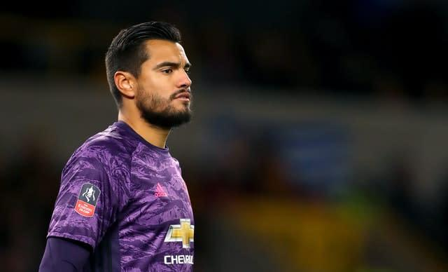 Argentina international Sergio Romero has been a superb back-up at Old Trafford (David Davies/PA)