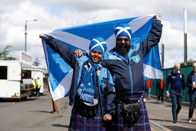 Scotland supporters will be able to cheer them on in restricted numbers at Euro 2020