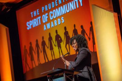 Award-winning actress Viola Davis congratulates top youth volunteers from across the United States at the 24th annual Prudential Spirit of Community Awards. The 2019 State Honorees were each recognized at a ceremony on Sunday, May 5 at the Smithsonian's National Museum of Natural History.