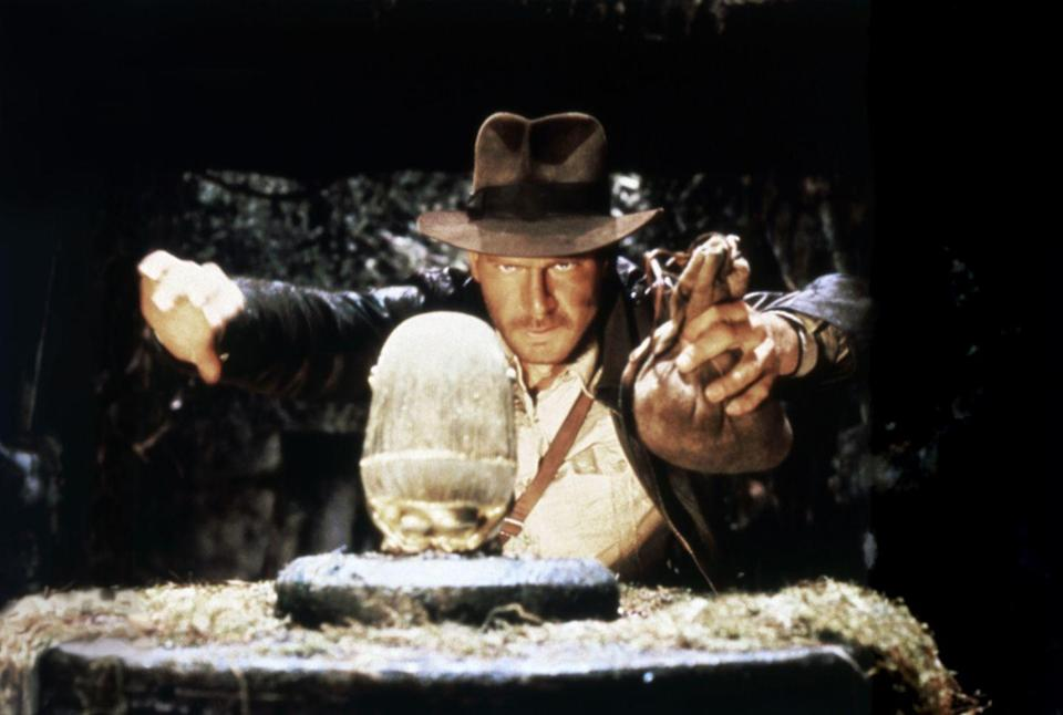 <p><em>Raiders of the Lost Ark </em>was the first film in the now massive <em>Indiana Jones </em>series. Harrison Ford starred in the hit and the <em>Star Wars </em>actor proved he could carry not one, but two, mega successful franchises. </p>