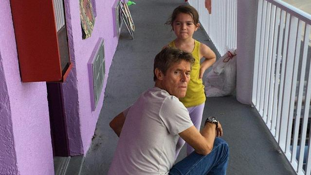 """Willem Dafoe and Brooklynn Prince star in """"The Florida Project."""" (A24)"""