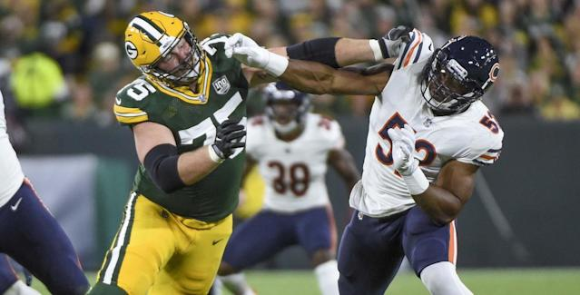 <p>Khalil Mack spoke after Sunday's game of needing to be better, and one play in particular stands out when looking at where the edge rusher could've done something different. </p>