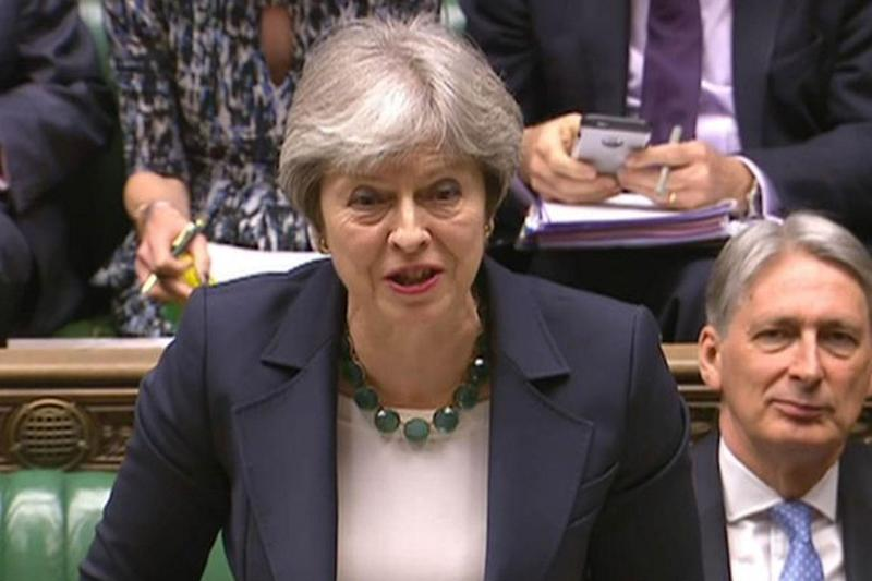 "The Prime Minister has shepherded ministers behind a plan that would give Britain ""the right to choose to diverge"" from European Union rules in future"