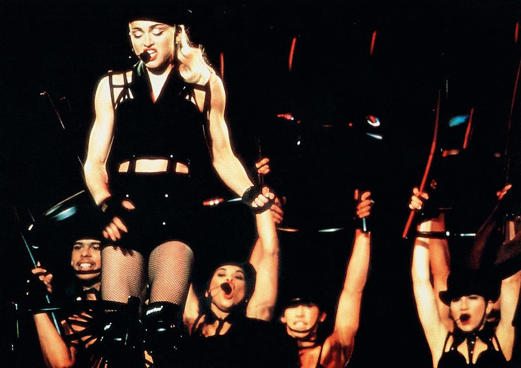 "<a href=""http://movies.yahoo.com/movie/1808732387/info"">Madonna: Truth or Dare</a> (1991): A striking mix of black and white with bursts of color during the concert scenes, which seems fitting for Madonna, given the dramatically fluctuating images of herself she presents to the world. Director Alek Keshishian follows Madonna on her grueling 1990 Blond Ambition tour and provides many of the moments we've come to associate with the pop star: the pre-show prayer circles, the sex games with her dancers, the backstage dissing of Kevin Costner. She's always fully aware she's being filmed, of course -- don't kid yourself that you're seeing the ""real"" Madonna. As ""herself,"" though, she certainly gives a better performance than she did in ""Swept Away."" And if it doesn't happen on camera for Madonna, as Warren Beatty astutely observes, it may as well not happen at all."