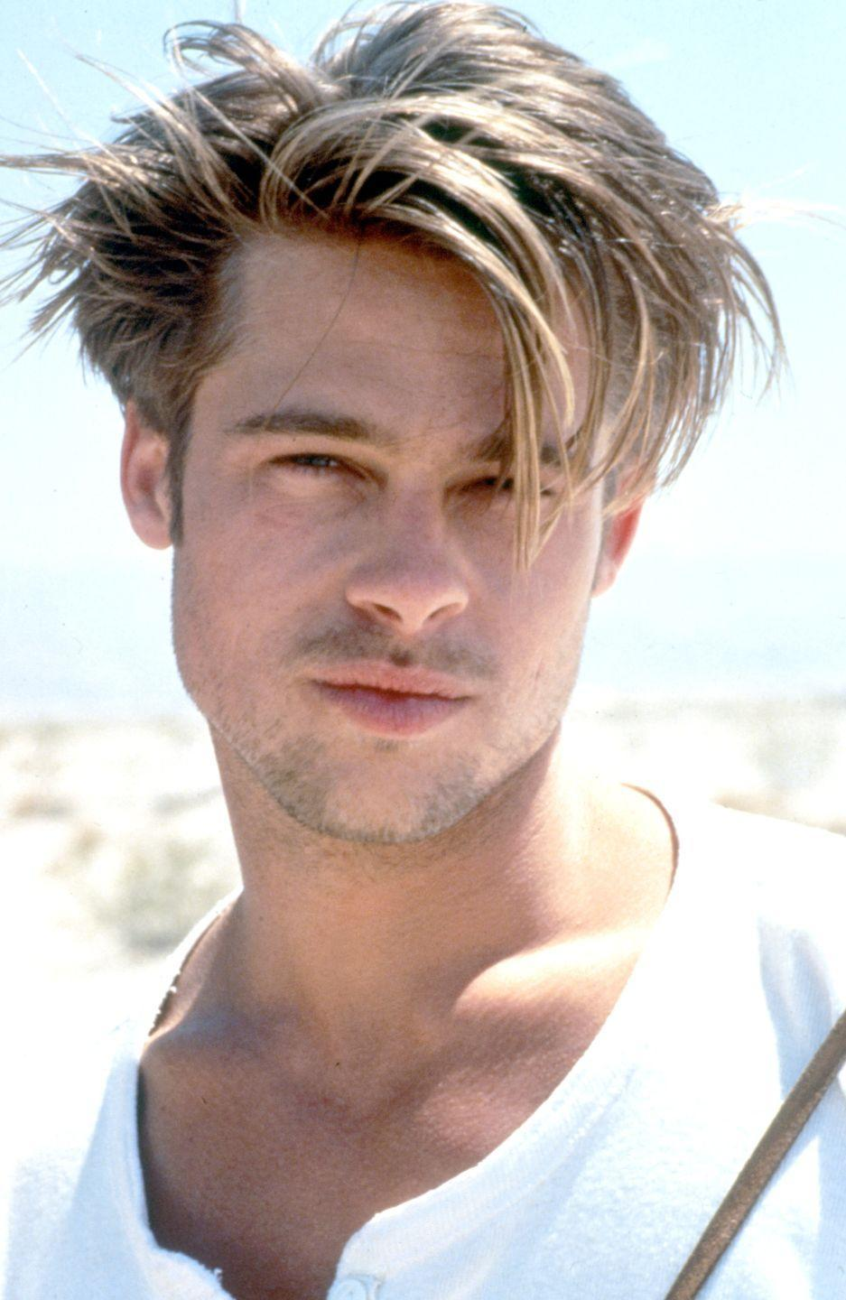 <p>A young Brad Pitt caught the world's attention in 1991 when he made his big screen debut as a hitchhiker in <em>Thelma and Louise.</em> It wasn't long after that the hunky actor began landing leading roles in films like <em>A </em><em>River Runs Through It</em>, <em>Legends of the Fall</em>, and <em>Interview With a </em><em>Vampire</em>.</p>