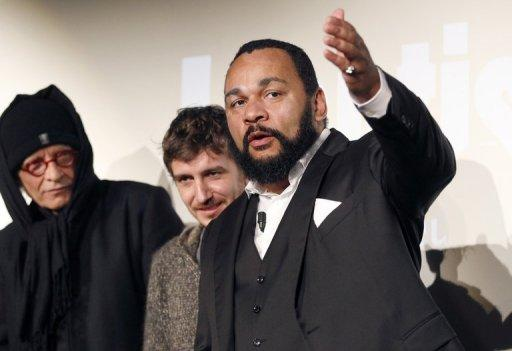 """Made in nine days, """"The Anti-Semite"""" will not be shown in cinemas but sold over the internet"""