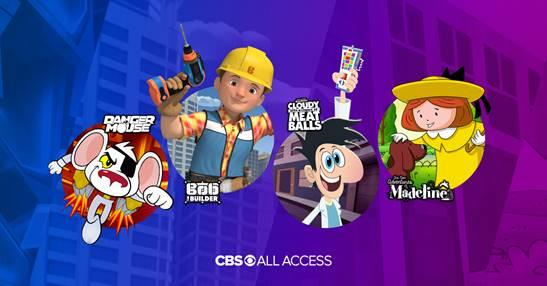 cbs all access kids