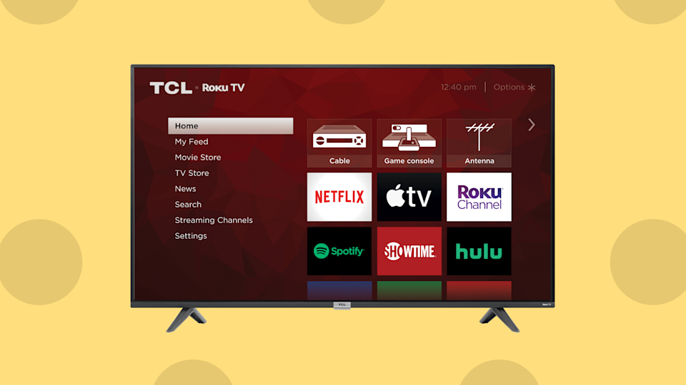 Save 34 percent on the TCL 40-inch HD Smart LED Roku TV. (Photo: Amazon)