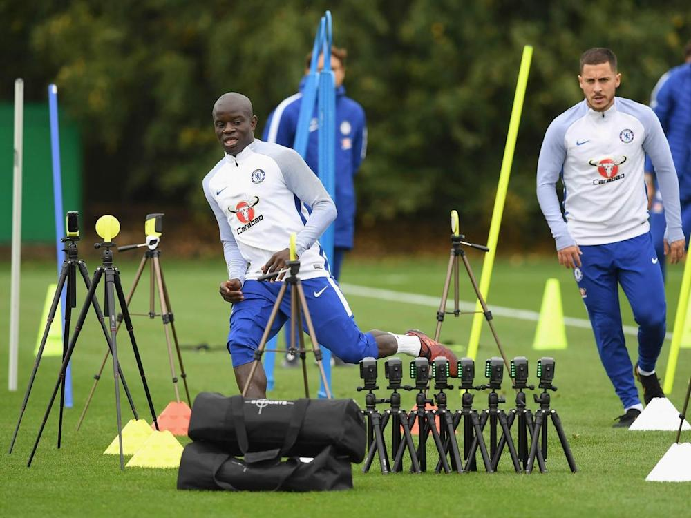Conte says Kante is in