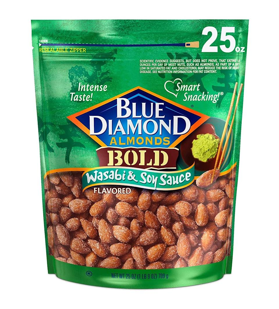 <p><span>Blue Diamond Almonds</span> ($10)</p>