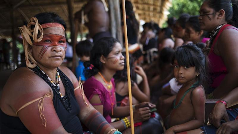 Brazil Amazon Indigenous community