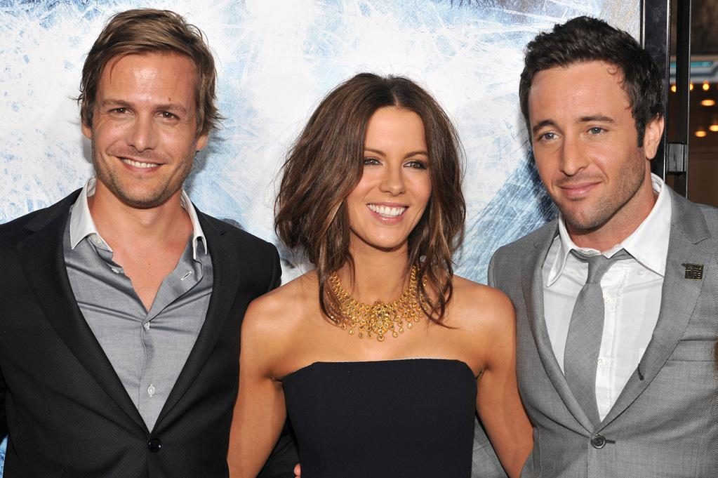 """<a href=""""http://movies.yahoo.com/movie/contributor/1800405800"""">Gabriel Macht</a>, <a href=""""http://movies.yahoo.com/movie/contributor/1800020790"""">Kate Beckinsale</a> and <a href=""""http://movies.yahoo.com/movie/contributor/1809670545"""">Alex O'Loughlin</a> at the Los Angeles premiere of <a href=""""http://movies.yahoo.com/movie/1809839458/info"""">Whiteout</a> - 09/09/2009"""