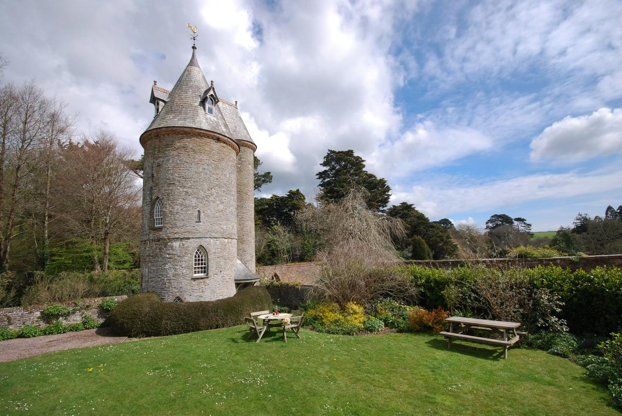 "<p>If it was good enough for Rapunzel, it's good enough for us. The topsy-turvy Water Tower in Trelissick, Cornwall, has a circular room on each floor linked by a spiral staircase with the kitchen at the top, a sitting room below, and a double bedroom on the first floor. With beautiful gardens on your doorstep and the rest of the Fal Estuary to explore, the hardest part of making that grand romantic gesture will be deciding where to do it. The tower can be booked through <a href=""http://www.nationaltrustholidays.org.uk/"">National Trust</a> and costs from £507 for seven nights' self-catering.</p>"
