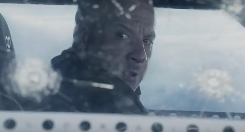 Vin Diesel in 'The Fate of the Furious' (credit: Universal)