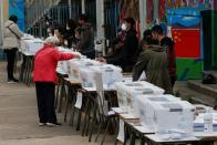 Chileans vote for governors, mayors, councillors and members of the 155-strong constitutional convention body of citizens who will draw up the country's new charter