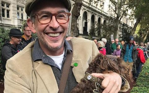 Steve Coogan at the march - Credit: PA