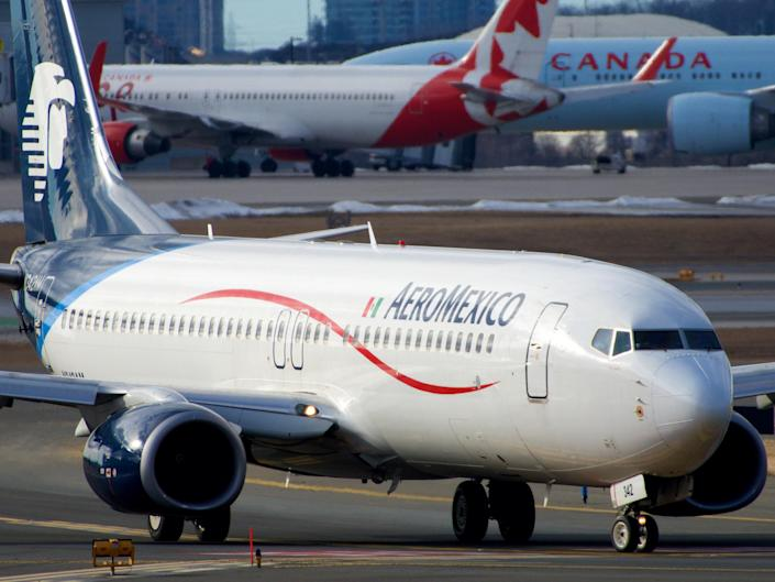<p>The Aeromexico pilot asked to fly over the city at 4,000ft</p> (BriYYZ/Wikimedia)