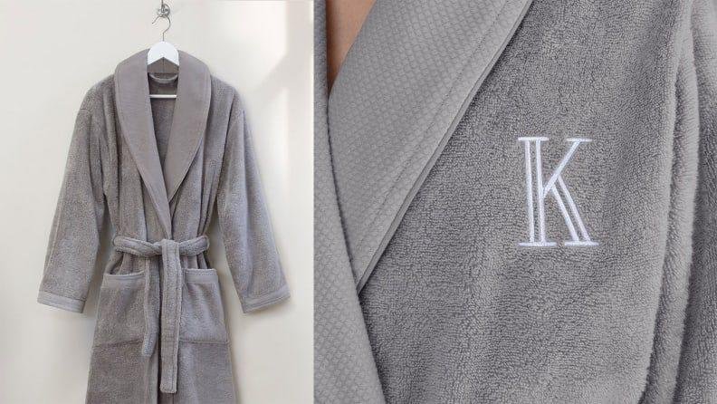 Best personalized grad gifts: Monogrammed robe