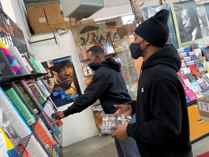 At Black-owned bookstores, the talk is about the next chapter in U.S civil rights