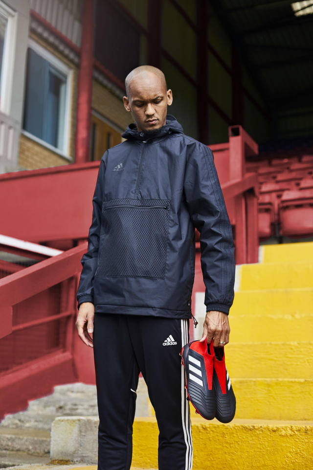 Liverpool midfielder Fabinho currently wears the new Predator 18+ Team Mode boots, available from adidas.co.uk
